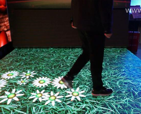 Magic Stage used as an Interactive Dance Floor