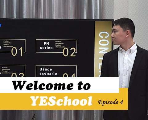 YESchool: Fixed Installation series LED Display