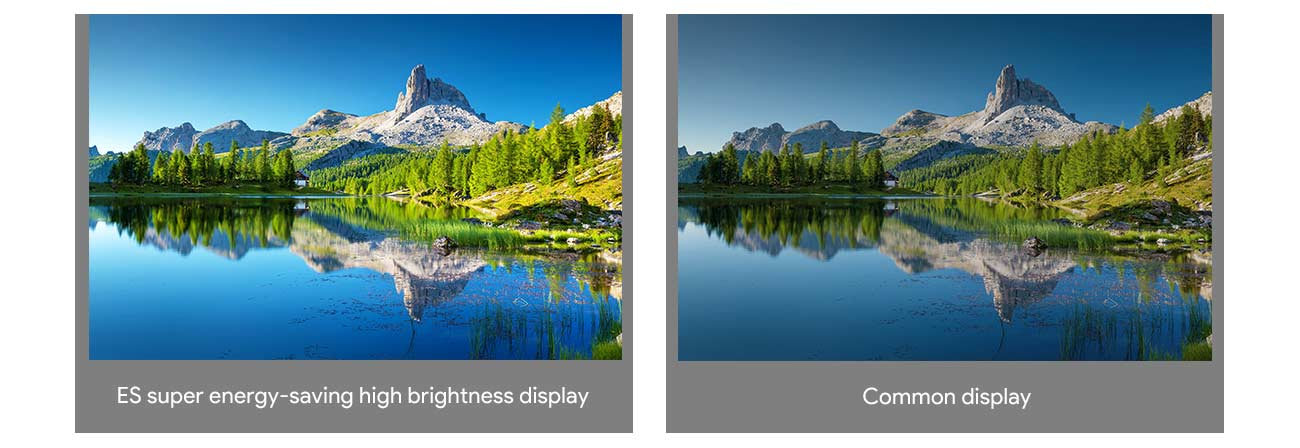 High Contrast Ratio & Refresh Rate & Brightness
